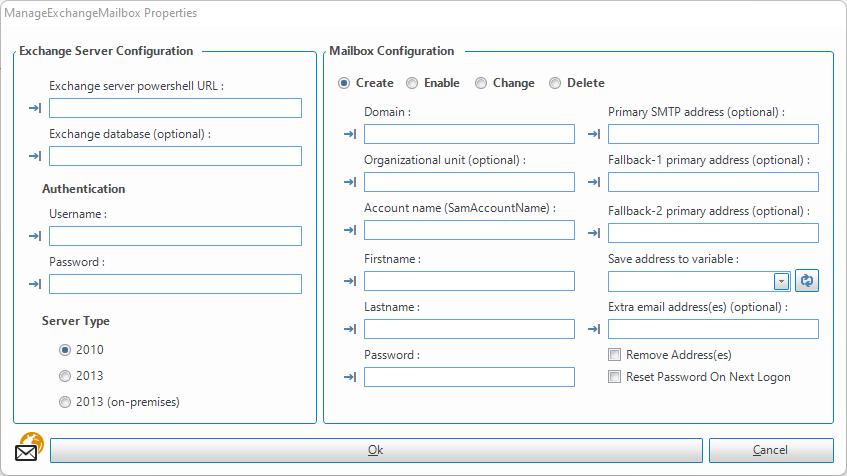 ManageExchangeMailbox - SetConnect